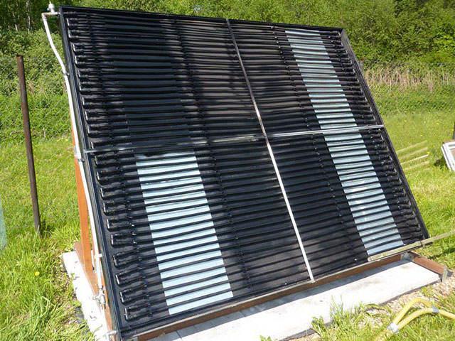 Солнечный коллектор своими руками - несколько эффективных вариантов