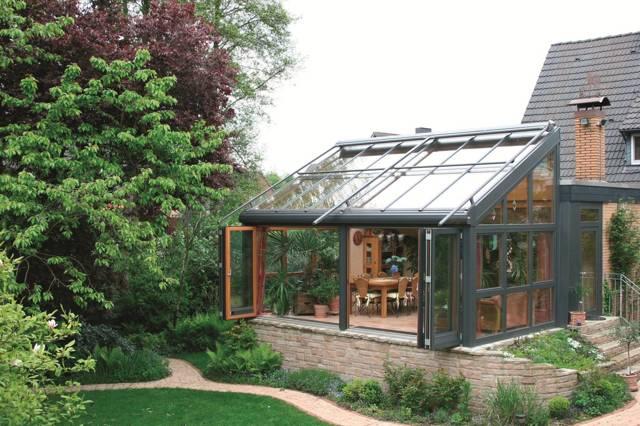 Зимний сад в частном доме - как обустроить? Варианты + инструкция