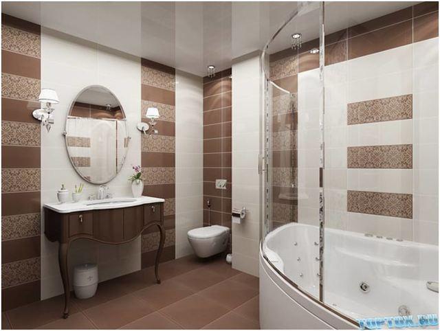 Потолок в ванной комнате какой выбрать - рассматриваем варианты