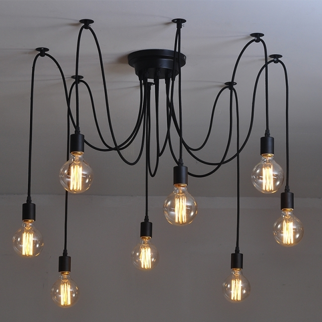 Освещение в стиле лофт - обзор вариантов освещения в интерьере