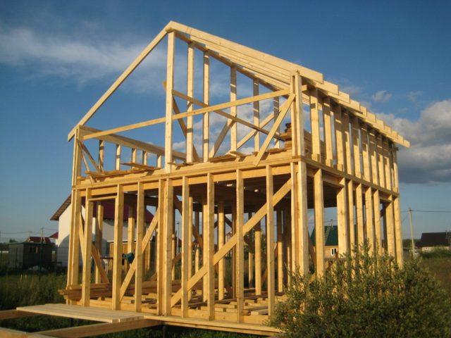 Строительство каркасного дома своими руками - нелегкая, но посильная задача