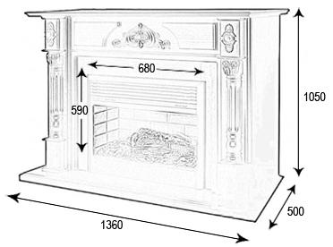 Фальш-камин своими руками - пошаговая инструкция по монтажу и отделке