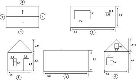 Сколько потребуется сайдинга для внешней отделки дома - считаем сами на калькуляторе