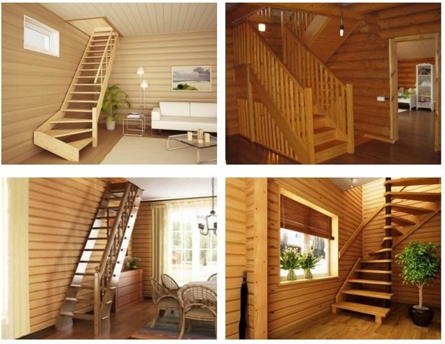 Деревянная лестница своими руками - попробуйте свои силы
