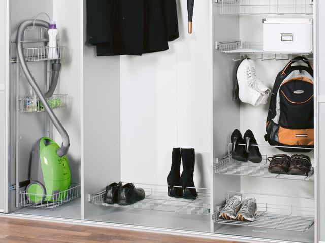 Наполнение шкафа-купе в прихожую: советы, примеры и инструкции