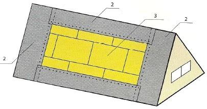 Подкладочный ковер под гибкую черепицу - выбор и основные правила укладки