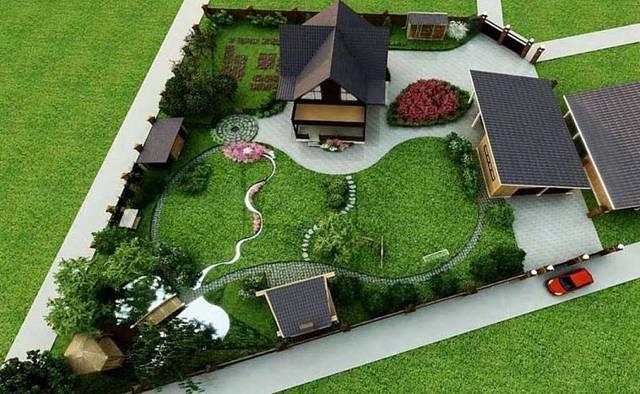 Дача своими руками - учимся планировать собственные владения