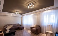Люстра под натяжной потолок - подходящие модели с фото дизайном и способы крепления