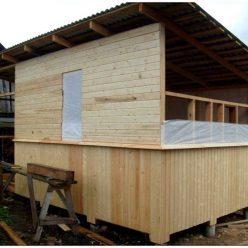 Сарай своими руками - фото инструкция, как постоить сарай: 5 видов бруса для строительства