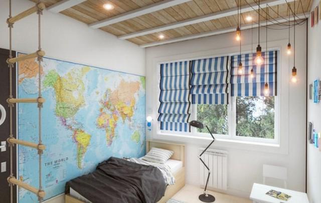 Освещение в детской - как организовать правильно освещения в комнате с фото примерами
