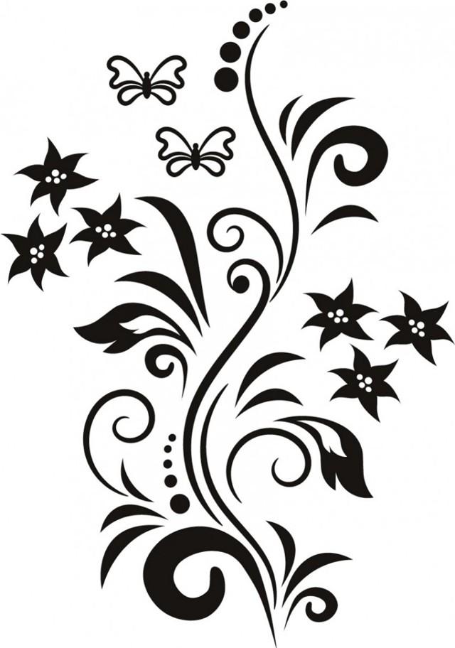 Трафареты для декора своими руками шаблоны, их подготовка и применение для декора стен