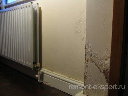 В квартире сырые углы и стены? Причины и способы борьбы