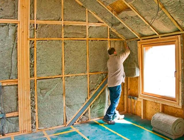 Утеплитель для стен внутри дома на даче - как правильно выбрать?
