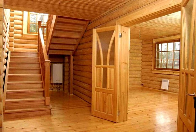 Отделка деревянного дома внутри - обзор доступных вариантов