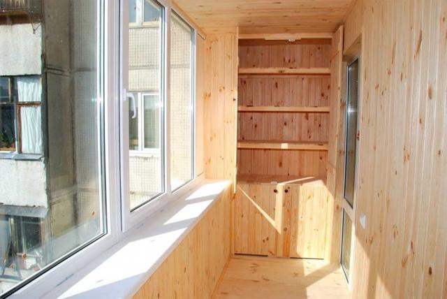 Отделка балкона вагонкой своими руками - инструкция для новичков