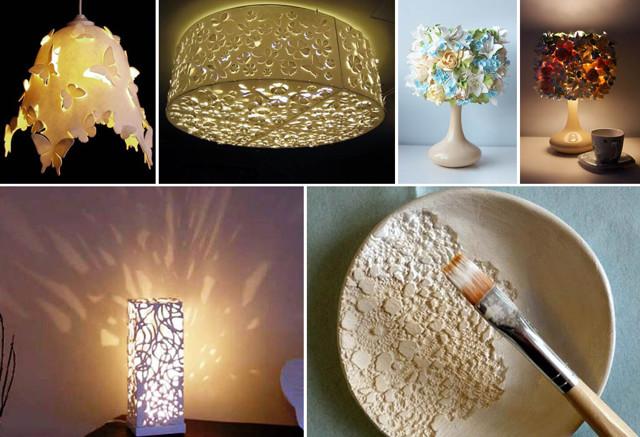 Как сделать абажур своими руками - несколько доступных вариантов абажуров для лампы