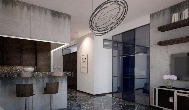 Декоративная штукатурка под бетон - разновидности и технология нанесения