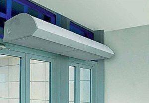 Тепловая завеса на входную дверь - как правильно выбрать прибор
