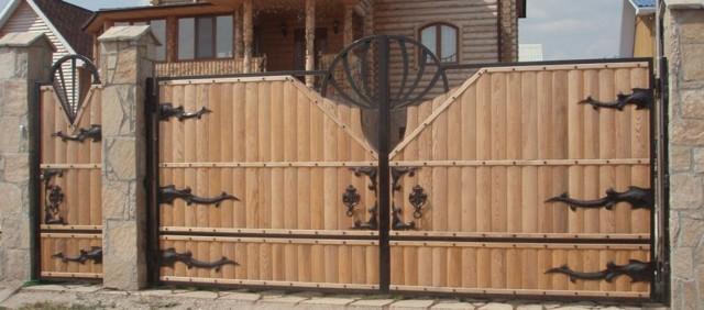 Как сделать ворота своими руками - различные варианты