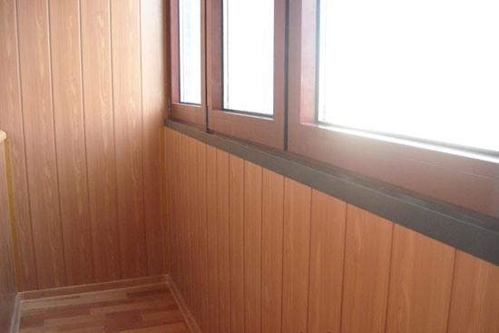 Варианты отделки балкона внутри - выбирайте оптимальный для своей квартиры