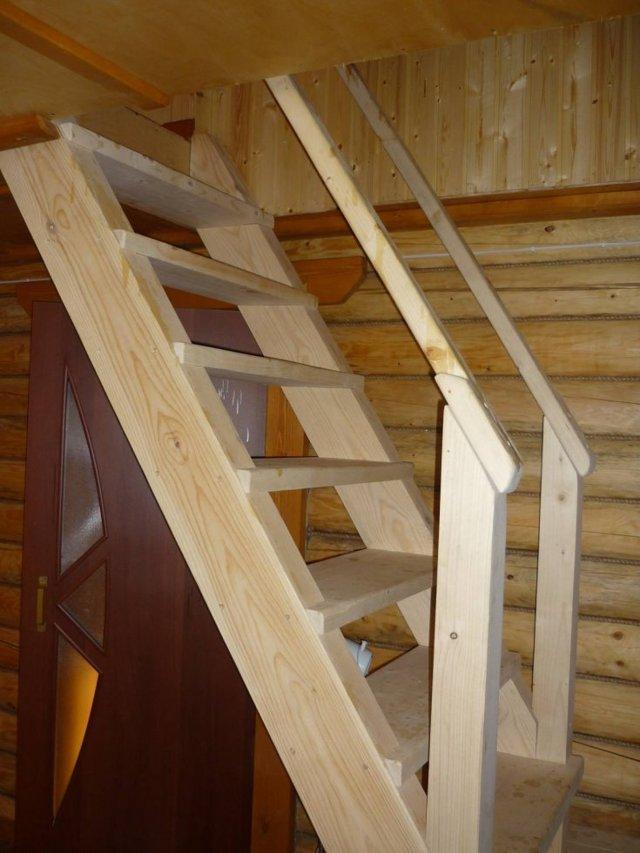 Лестница на второй этаж своими руками - инструкция