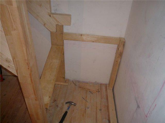 Забежная лестница своими руками - от расчетов до монтажа