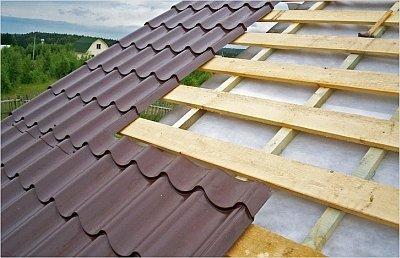 Двускатная крыша: стропильная система под металлочерепицу - расчеты и особенности монтажа