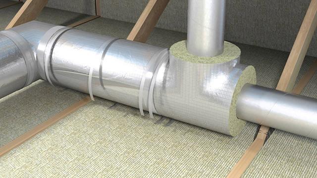Теплоизоляция для труб отопления на открытом воздухе - какой вариант лучше?