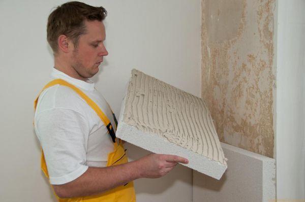 Способ утепления стен изнутри пенопластом своими руками - инструкция