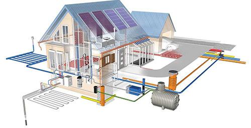 Экономное отопление частного дома - какая система оптимальна?