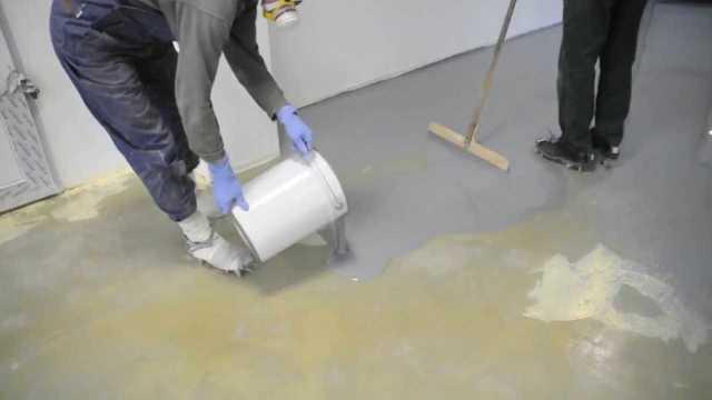 Наливной пол ремонт трещин - когда необходим и как проводится в квартире своими руками