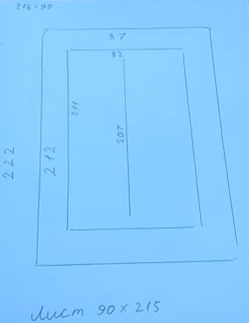 Железная дверь своими руками - 2 варианта, мастер-класс