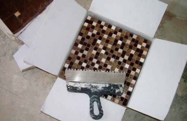Плитка-мозаика для ванной комнаты - пошаговая укладка на стены