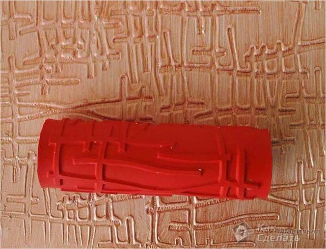 Рельефная штукатурка своими руками - практическое руководство