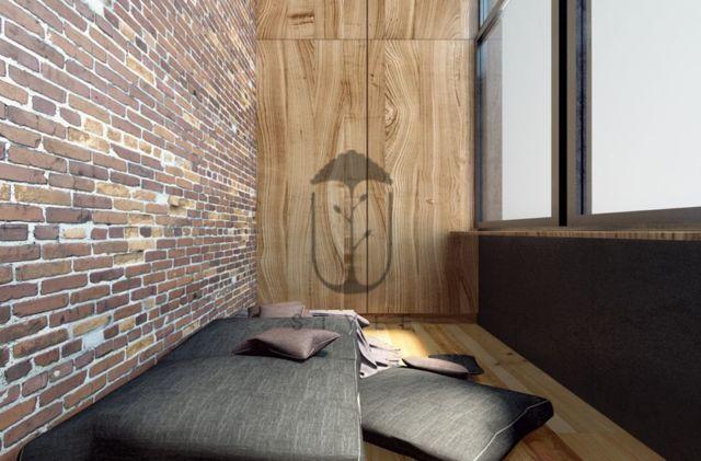 Балкон в стиле лофт - рассматриваем возможные варианты