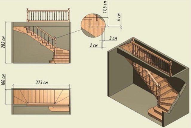 Высота ступеней лестницы в своём доме - ищем оптимальное значение