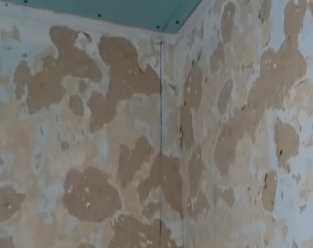 Утепление стен изнутри минватой плюс гипсокартон - схема с существенными недостатками