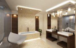 Светильники точечные в ванную комнату - виды, выбор и монтаж