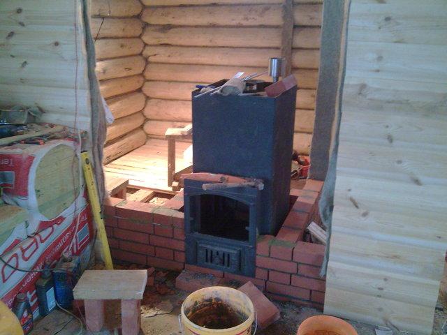 Как железную печь обложить кирпичом своими руками - инструкция с видеопримерами