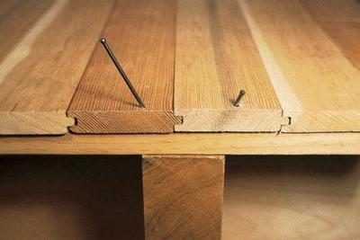 Настил деревянного пола своими руками - советы начинающим