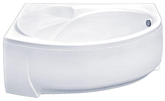 Ванны акриловые угловые асимметричные:виды, советы по выбору и монтажу