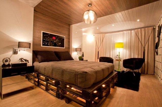 Мебель из поддонов - необычно, недорого и весьма практично, делаем кровать своими руками