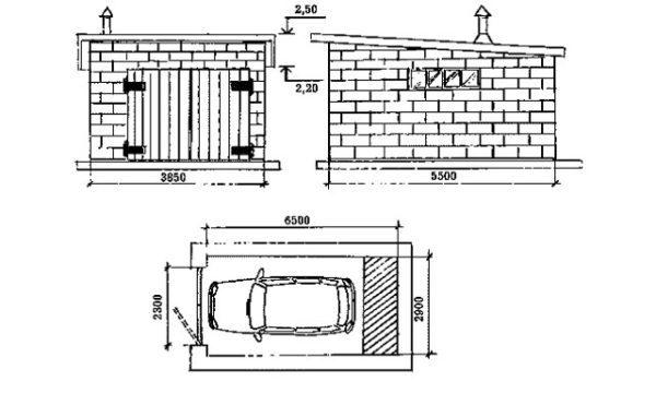 Строительство гаража из пеноблоков - оптимальное решение