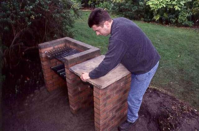 Печь барбекю своими руками - пошаговая инструкция