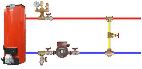 Предохранительный клапан в системе отопления - назначение, устройство, установка