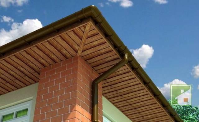 Подшивка крыши софитом - как выполнить самостоятельно
