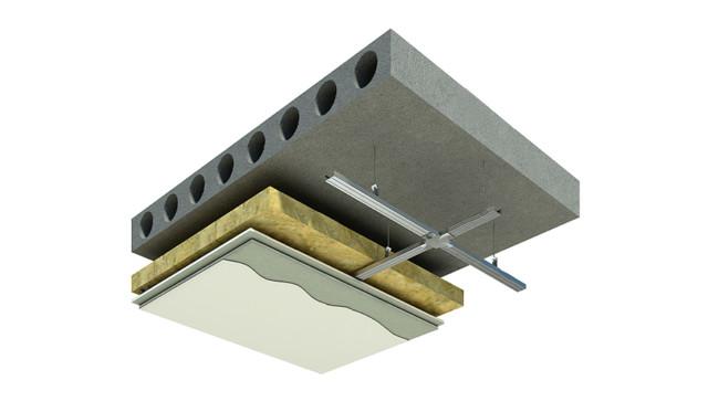 Звукоизоляция потолка в квартире под натяжной потолок - материалы и технология монтажа