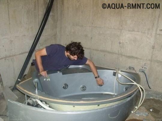 Установка и подключение джакузи своими руками - подробная инструкция