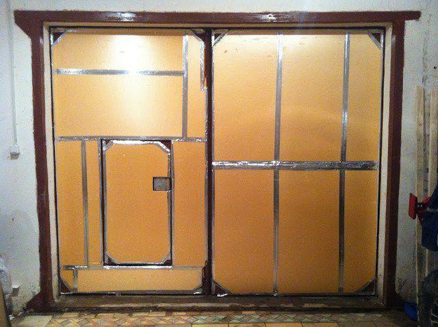 Как утеплить гаражные ворота пенопластом - пошаговая инструкция