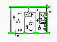 Перепланировка двухкомнатной хрущевки - планирование, получение разрешения, выбор оптимального варианта